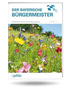 Artikel in der Zeitschrift DER BAYERISCHE BÜRGERMEISTER